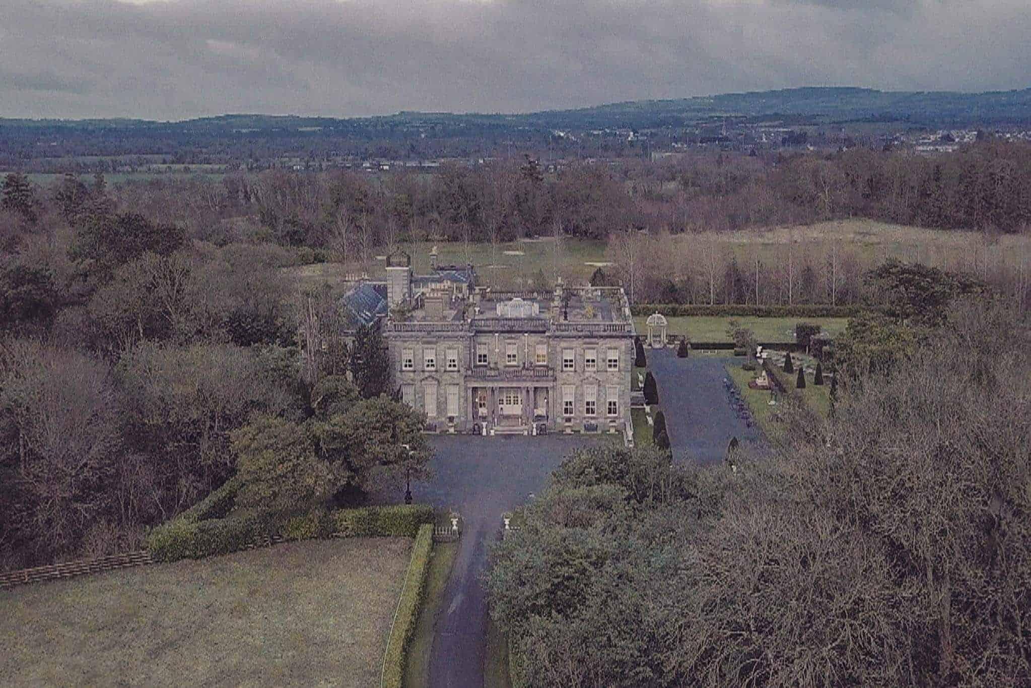 Palmerstown House Estate Kildare Videographer Drone