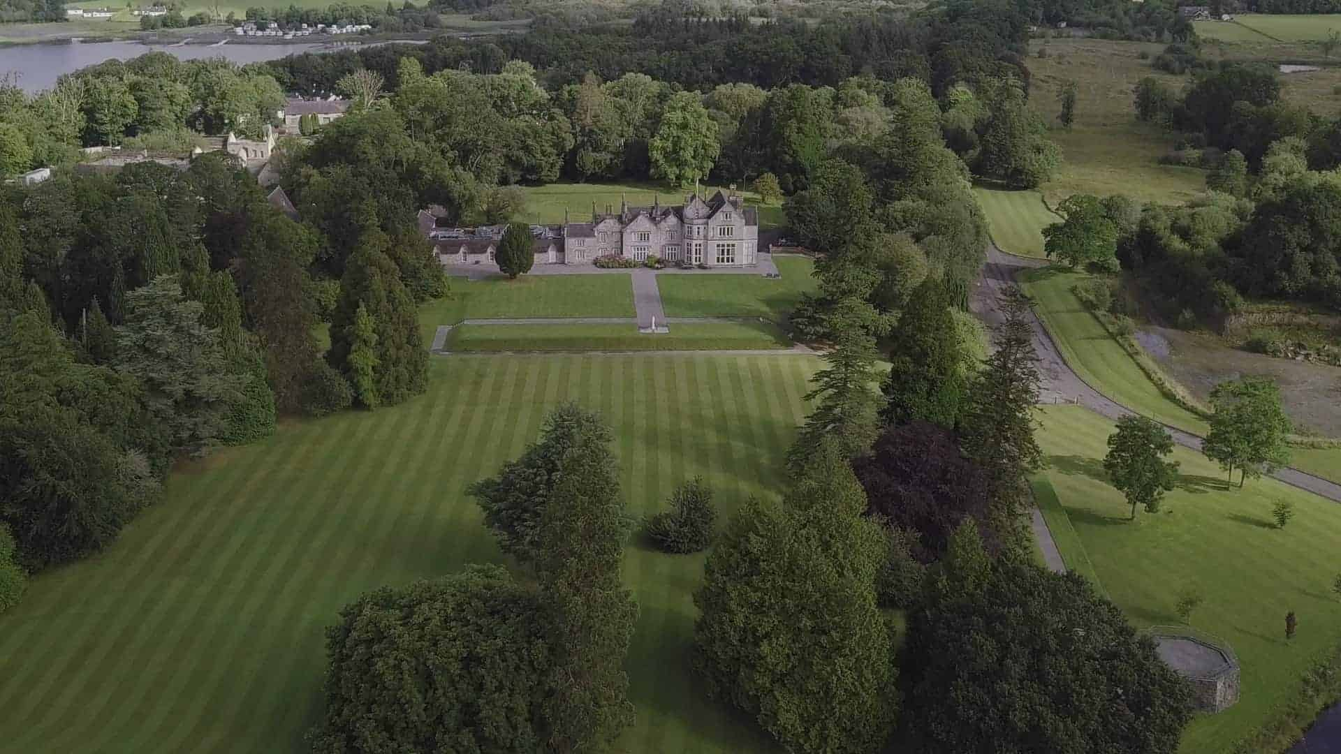 Lough Rynn Wedding Videographer Drone