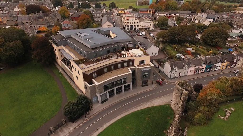 Trim Castle Hotel Wedding Videographer Drone