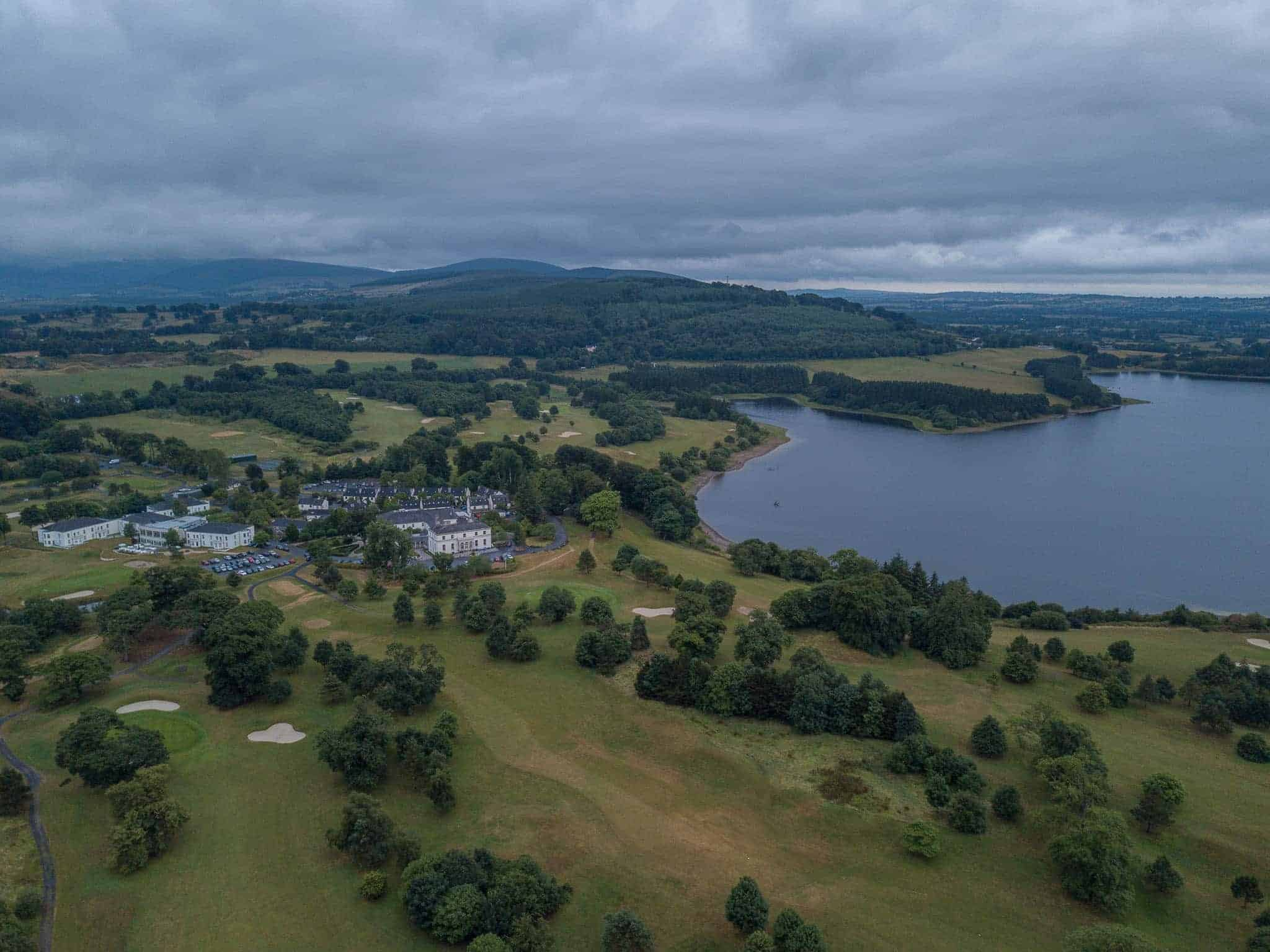 Tulfarris Blessington Lakes drone aerial