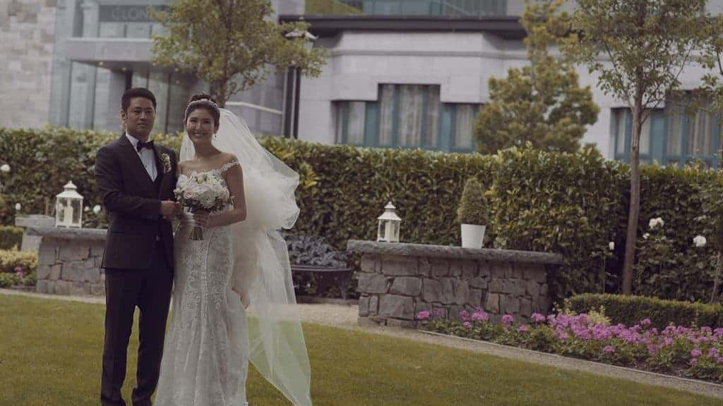 Clontarf Castle Hotel Wedding Videographer Dublin