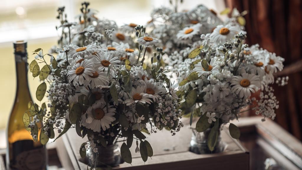 Flowers at Horetown House